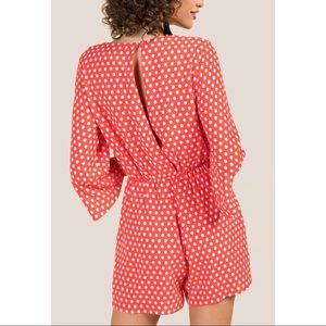 f0d24efed07 Everly Pants - 2 FOR  25! Red and White Polka Dot Romper